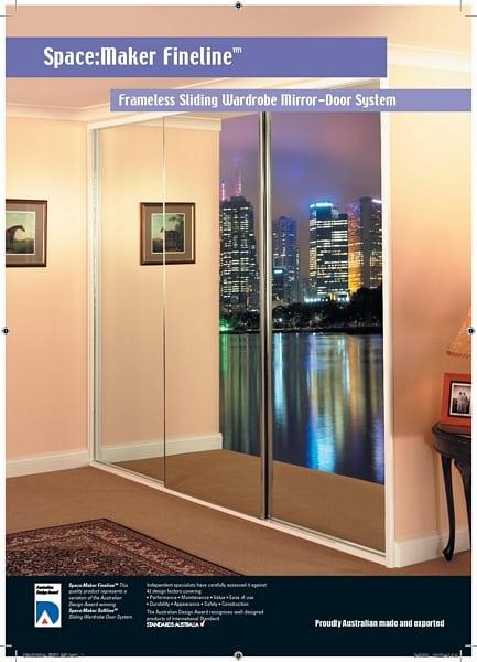 Contact Info & Fineline Wardrobe Door | C \u0026 L Showerscreens Wardrobes